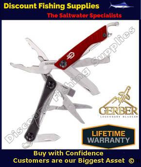 Gerber Dime Tool Red - Keyring Multi Tool