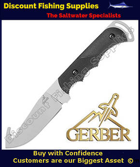 Gerber Freeman Guide Fixed Blade Hunting Knife with Gut Hook