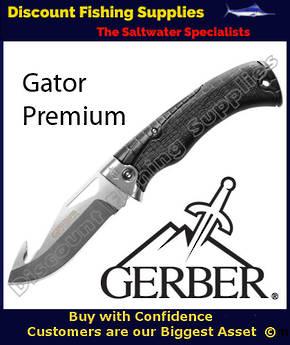 Gerber Gator Premium Gut Hook Hunting Folder