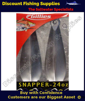 Gillies Sinker Mould - Reef 24oz (X2 Sinkers)