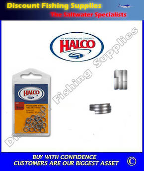Halco Fish Rings 4XX (Split Rings)