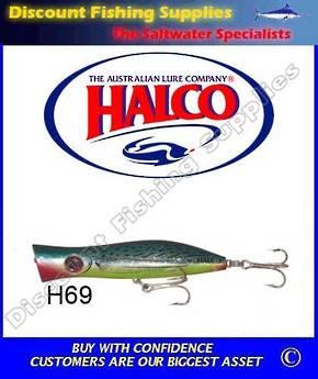 Halco Roosta Popper 135mm Bonito
