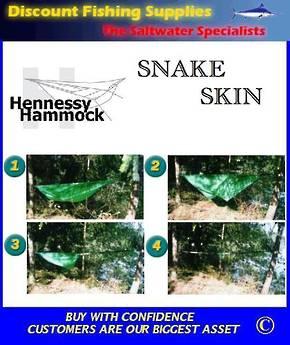 Hennessy Hammock - Snake Skin