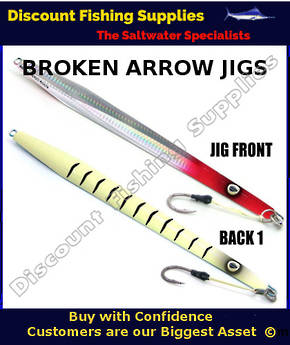Kilwell Broken Arrow Jig 250gr - Red Head