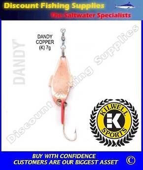 Kilwell Spinner - Dandy Copper 7g (Bulk Pack 10)