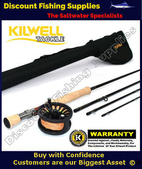 Kilwell Fly Combo Dragonfly 9084 - WF8F with Tube