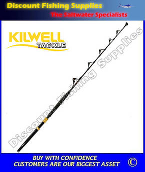 Kilwell EG Fully Rollered Game Rod 37kg - Detachable Butt