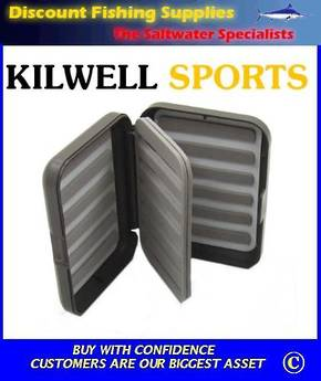 Kilwell Slit Foam Fly Box - 24 bars/Leaf