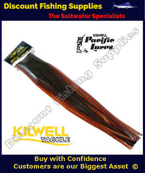 "Kilwell Pacific Lure Skirt - Orange Brown 12"" No6"