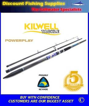 Kilwell PowerPlay Glass/Carbon Surf Rod 14' 3pc