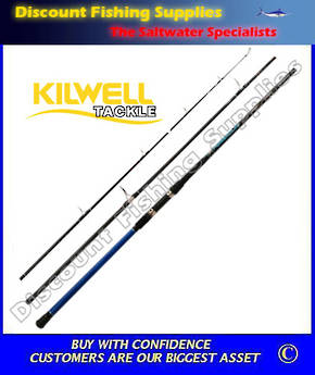 "Kilwell Power Play Slimline 14'6"" 3pc Surf Rod"