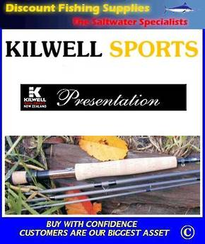 Kilwell Presentation Fly Rod #6 - 9' - 4pc