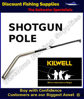 Kilwell NZ Shotgun Rigger 2.7m Bent Base Black