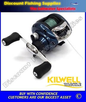 Kilwell WEA200 Baitcaster WITH Braid