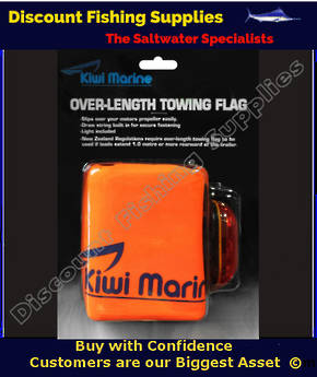Kiwi Marine Trailer Flag - Bag Type With Light