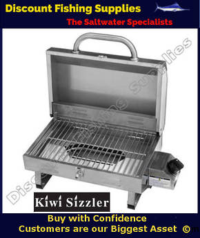 Kiwi Sizzler Stainless Steel Single Burner BBQ