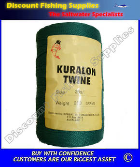 Kuralon Twine Green 20S/72
