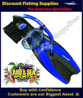 Land & Sea Fiji Snorkeling Set MEDIUM