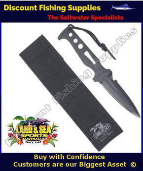 Land And Sea Stealth Dive Knife