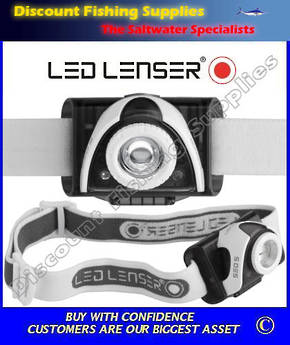 LED Lenser SEO 5 Headlamp Grey