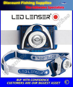 LED Lenser SEO 7R Rechargeable Headlamp