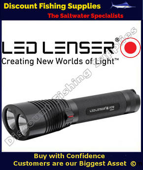 Led Lenser X7R LED Torch - Rechargeable
