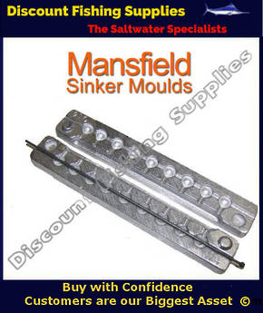Sinker Mould - Ball Sinker - 9 X 1/8oz (15)