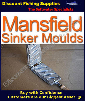 Sinker Mould - Bank Sinkers - 3,4,5 and 6oz - 02