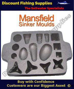 Sinker Moulds| Ladels | Fishing Gear | Discount Fishing Supplies | NZ