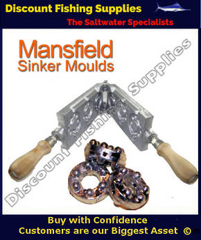 Sinker Mould - SandGrip - 3,4 and 5oz