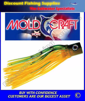 Mold Craft Senior Hooker - Green/Yellow