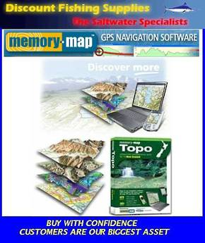 Memory-Map Topo South Island