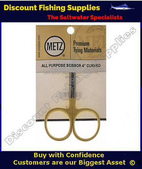 "METZ AP Scissors 4"" curved"