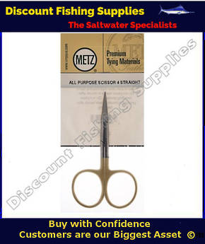 "METZ AP Scissors 4"" straight"