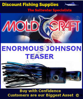 Mold Craft Enormous Johnson TEASER - Mac/Silver/Black