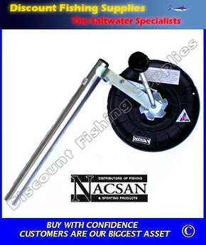 Nacsan Longline Reel on Alloy Bracket