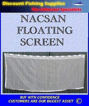 Nacsan Floating Whitebait Screen 4m