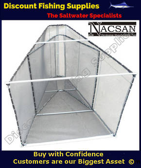 Nacsan Large Folding A Frame WhiteBait Setnet