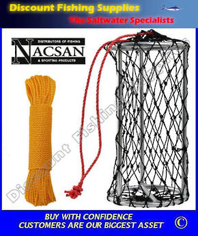 Nacsan Berley Cage Medium WITH 30m Rope