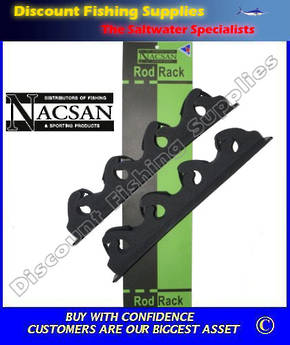 Nacsan Velcro Backed Rod Rack