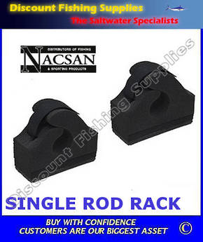 Nacsan Single Adhesive Rod Rack