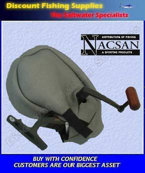 Nacsan Spin Reel - neoprene Cover - Medium