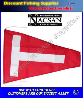 Nacsan Catch Flag - Tag And Release