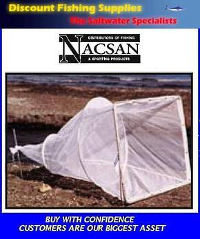 Nacsan Mini Sock Net 3 Ring WhiteBait Setnet