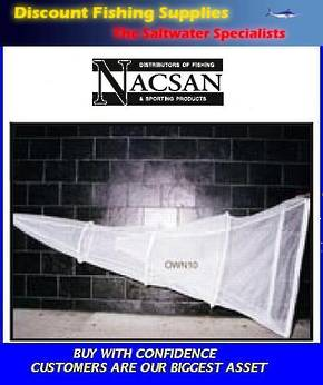 Nacsan Mini Sock Net 4 Ring WhiteBait Setnet