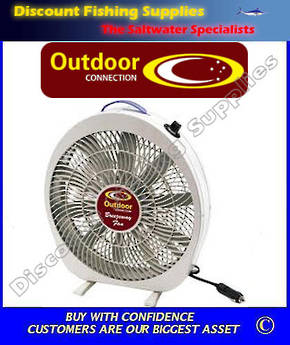 Outdoor Connection Breezeway Fan 12 Volt