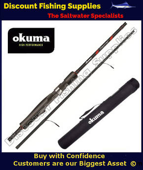 Okuma Ceymar Trout Spinning 4 Piece 6'6 3-6kg Rod with Tube
