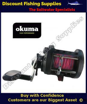 Okuma Classic CLX450La  Trolling Reel With Leadline