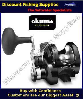 Okuma Metaloid 5NS Single Speed Narrow Jigging Reel