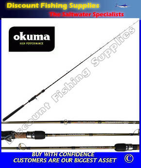 Okuma Nano Matrix Jig Rod 100gr 6'3""